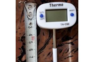 Термометр поворотный укороченный 4 см ножка